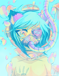 Eyepatch and Gasmasks 002 by Cuney