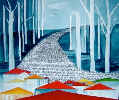 yolak..path by MeralSarioglu