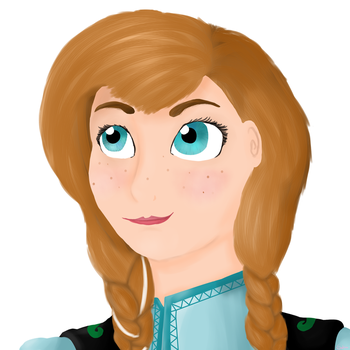 Frozen - Anna by Ducera