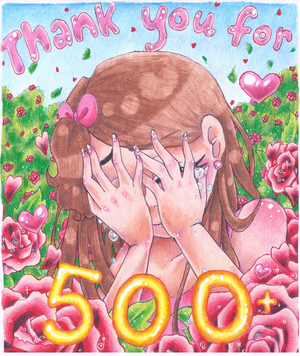 Thank you for 500 Watches + YT video by NasikaSakura