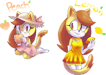 Peach or Lemon by CuteyTCat