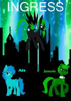 Ingress Ponies by ryoukamui