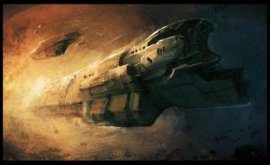 Space Cargo by MaxD-Art