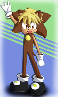 Apollo The Hedgehog by Cymb1on