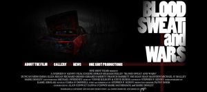 Website: Blood, Sweat and Wars by grapple-media
