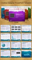 Creative Designer PowerPoint Template by UniqueCreativity