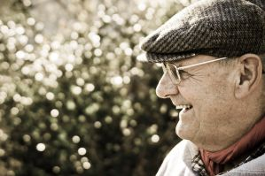 A lucky old Man by ackermaennchen