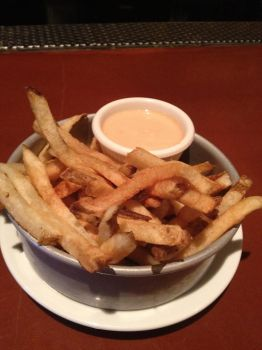 Stout NYC: A Bucket of Hand-cut Fries! by nosugarjustanger