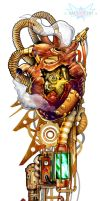 My Ticking Heart - Steampunk by Nyoun