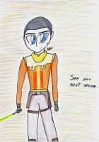 Ezra Bridger (Star Wars Rebels) by MafiPaint