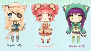Adoptables - Batch 10 [CLOSED] by MidnightAdoptss