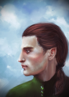 Maglor (paintover) by Vinyamare