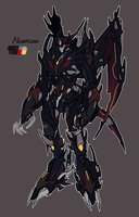 Predacon OC: Nightclaw by Mecha-Vision