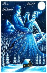 Winter Dance - Pour Feliciter 2019 by Alerazz501