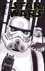 Stormtroopers Sketch Cover by shinlyle