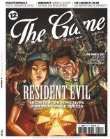 RESIDENT EVIL - The Game Magazine cover by RUIZBURGOS