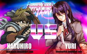 CCC-JAMS | Haruhiro VS Yuri by Blood-Splach