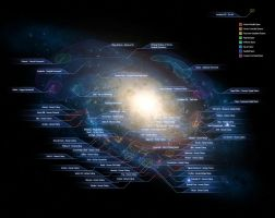 Haloverse: Galactic Map by Halcylon