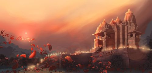 Mahadeva Temple by chateaugrief