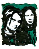 MCR - Gerard and Ray by weedenstein