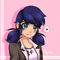 Marinette :D by happygirlXD