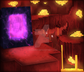 The Nether by Exunary