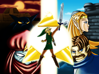 A Link to the Past by sprinterz