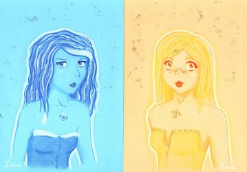 Ocean Et Beach Ladies by Lissou-drawing