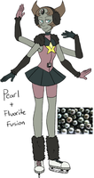 Tahitian Pearl (Pearl + Fluorite Fusion) by AccursedAsche