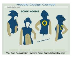 SONIC HOODIE by Zolaris