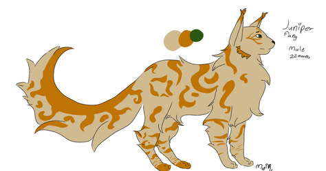 Juniperfang ref + Small vent by thelilcatus