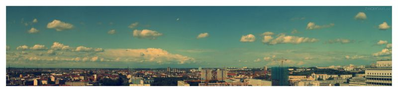 Berlin panorama by quasiohnemodo