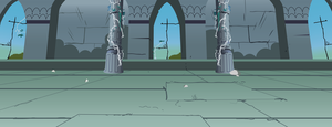 MLP Ancient Castle Throneroom / Chamber by Evilbob0
