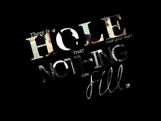 There is a hole. by Morning-hopes