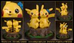 Commission : Pikachu Love by emilySculpts