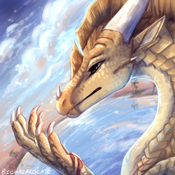 Wings of Fire - Six-Claws by Biohazardia