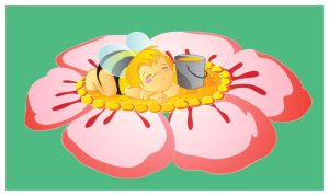 A little bee vector by jkBunny
