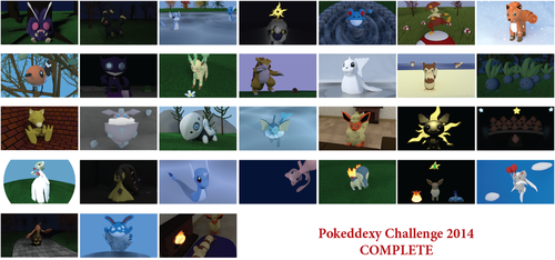 Pokeddexy Challenge Complete by SiverCat
