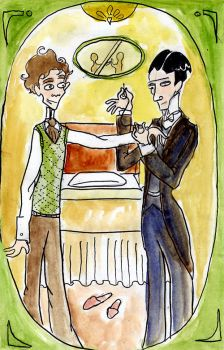 Jeeves and Wooster by elina-elsu