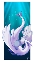 Favorite Psychic Type: Lugia by KatieOsika