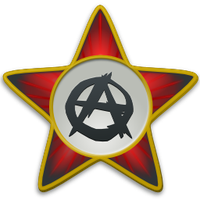 Anarchist star SVG by vicing