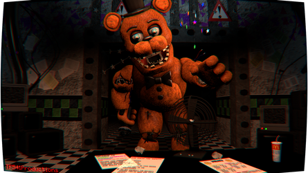 Withered Freddy 2 by TF541Productions