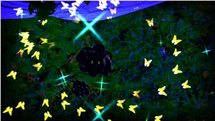 MMD my child, can you see the beauty of the Night? by reaperdeathlove