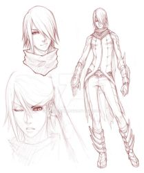 +Character Design SYN+ by Orenji-kun