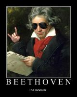 Beethoven, The monster by vivaelhuano