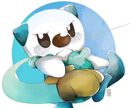 Oshawott by The-Empty-Sky