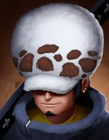 One Piece - Trafalgar Law by ogereye