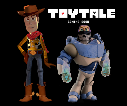 [Toytale] Woody and Buzz by woodyfromtexas