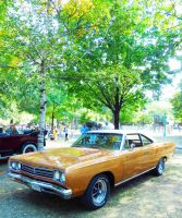 1969 Bahama Yellow Plymouth by Kitteh-Pawz