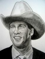 WWE JBL by VinceArt